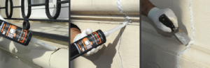 Réparer fissures sur façade extérieure - SintoPierre
