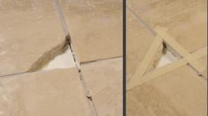Réparer un carrelage cassé - SintoPierre