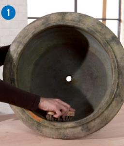 Réparer une vasque -SintoMarine