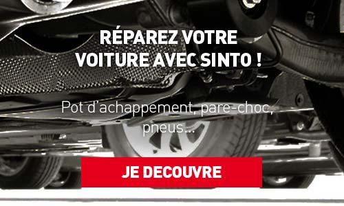 Réparation auto - Sinto
